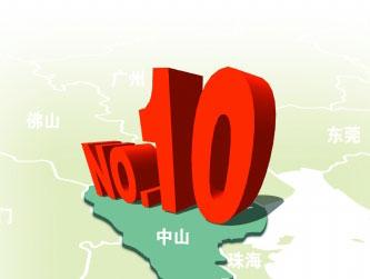 全国文明城市测评 中山列地级市第十
