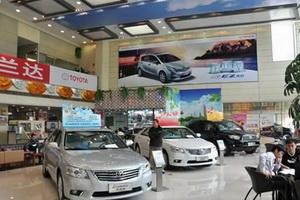 丰田12月在华销量下降17% 全年跌5%左右