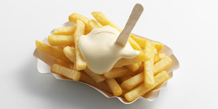 荷兰快餐店推出大麻味蛋黄酱