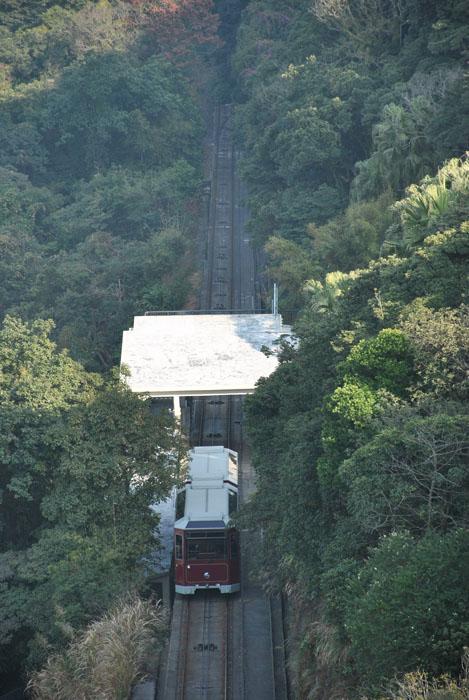山顶人体艺术_山顶缆车,世界最古老缆车