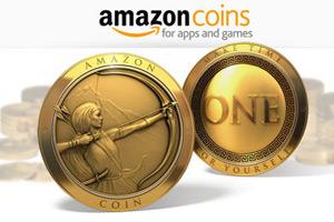 亚马逊周一推出虚拟货币:1美元兑换100个