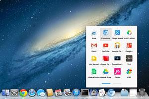 谷歌入侵MAC桌面:推自家WEB应用快捷启动器
