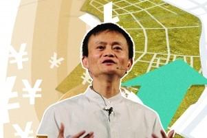 """马云""""带投""""3000亿元养""""菜鸟"""""""