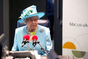 BBC新办公楼启用英女王出席揭幕