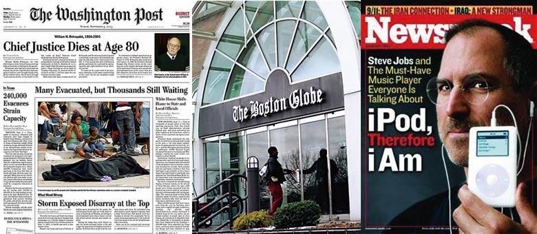 两日三名报刊被抛售 美国报业的末路征兆?