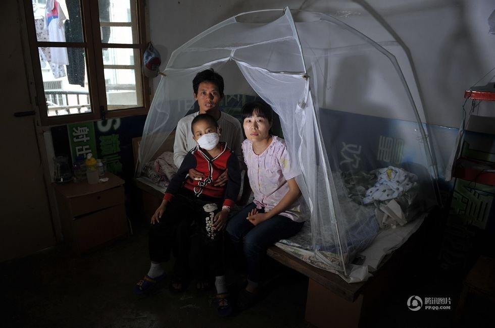 图片故事:白血病儿童和他们的家庭 国际