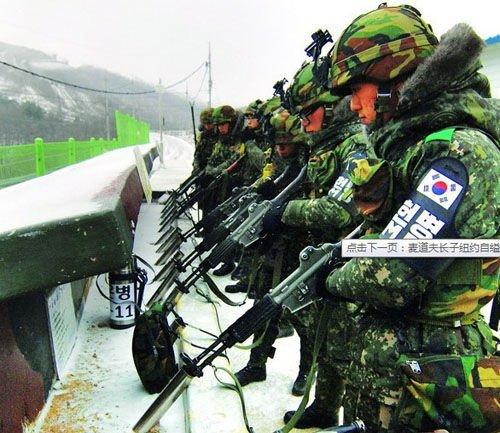 ...朝接壤的临津江地区击毙了一名企图越境前往朝鲜的男子.该负...