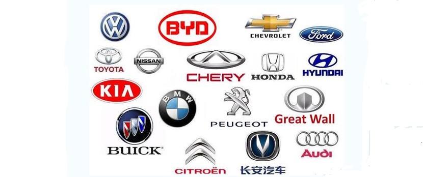 中国市场汽车品牌销量TOP20:大众夺冠 自主6席