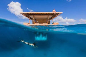 彭巴岛水下套房 实现美人鱼的梦想