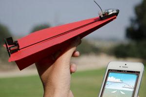 给你的纸飞机装上动力套件吧!还能用手机遥控