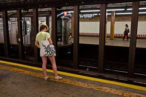 纽约地铁正在测试乘客跌落激光探测系统