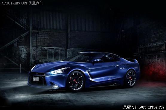 日产全新一代GT-R假想图 搭载混动系统