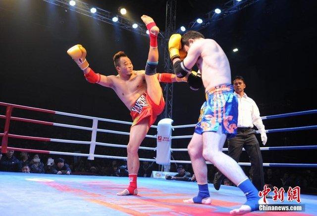 中国拳王大战前放狠话:打不赢日本人就出家