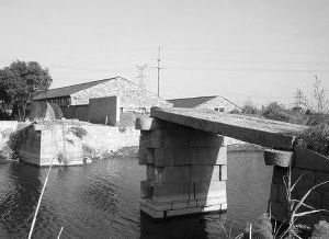 百年古桥被政府不小心弄断 网友戏称其过河拆桥