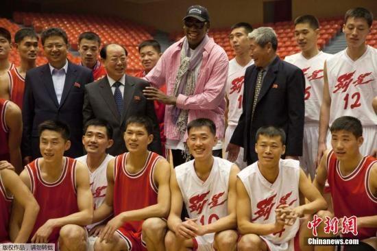 罗德曼将率前NBA球员队伍赴朝 为金正恩庆生