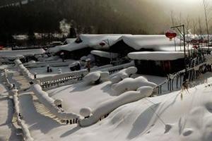 一路向北 玩转雪域