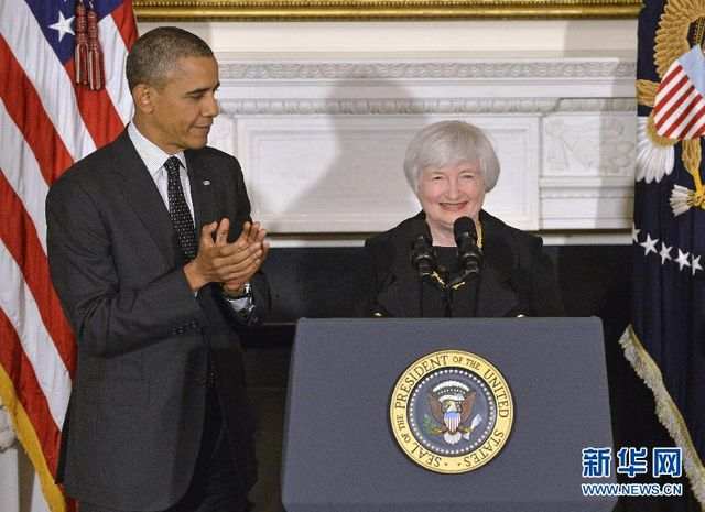 美国国会参议院批准珍妮特·耶伦出任美联储主席