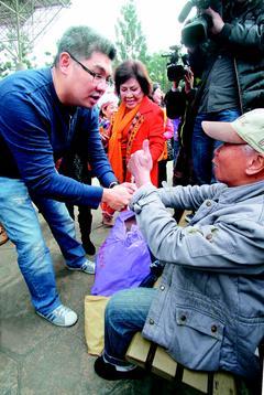连胜文参选台北市长态度明朗:追随大家 为台湾奋斗