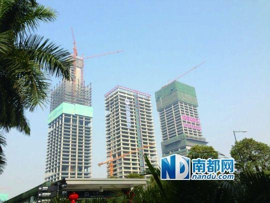 卓越三中心项目年内面世 叫板深圳房企销售冠军