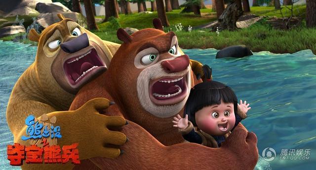 《熊出没》热卖 中国首部2亿动画今日诞生