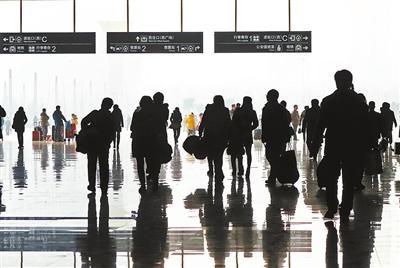今年春运36亿人次大迁徙 预计比去年增加2亿人