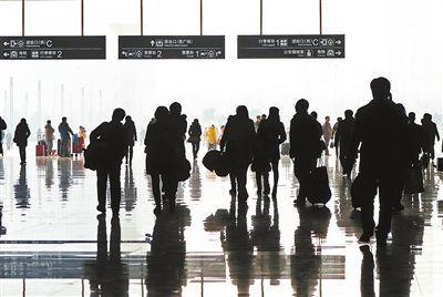 春运36亿人次大迁徙 平均每天9千万人次出行