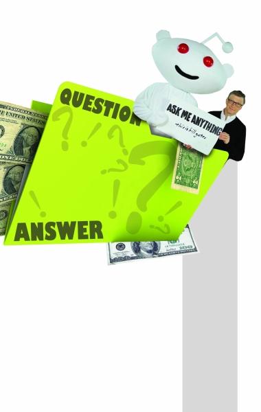 比尔·盖茨谈财富:我在地上发现100美元也会捡