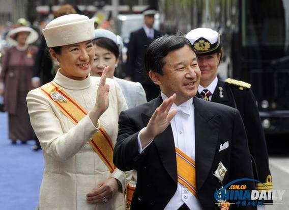 日本皇太子庆祝54岁生日 赞同天皇将自己火葬想法