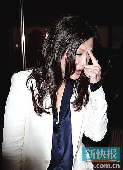 陈慧珊否认遭家暴:大家不知我老公有多好(图)