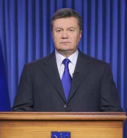 传普京曾劝亚努科维奇下台 认为其已无力统领乌克兰