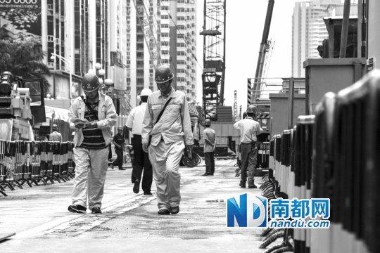 地铁围挡一周年 华强北商圈人气重聚租赁回升