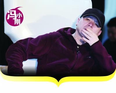 冯小刚为《笑傲江湖》当观察员 发布会后即撤离