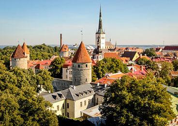 爱沙尼亚塔林童话 时光酿就千面之城