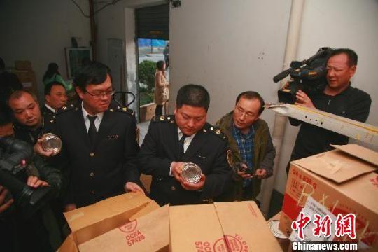 """浙江杭州广琪""""虫子面粉""""供连锁面包店 7人被抓"""
