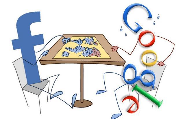 Facebook移动广告收入猛增 与谷歌差距缩小