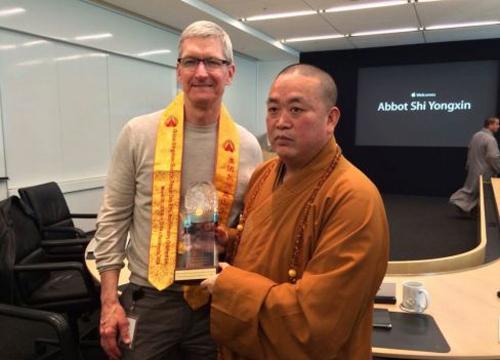 你没看错!少林寺代表团拜会谷歌、苹果总部