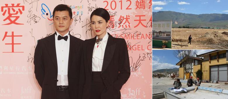 李亚鹏被指在丽江投资数十亿 王菲称他八爪鱼