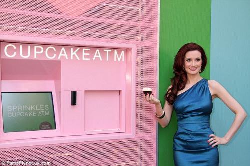 甜点ATM:24小时纸杯蛋糕售卖机纽约开张