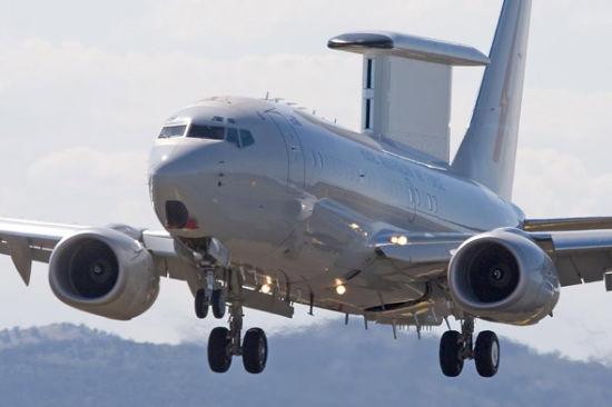 澳大利亚E-737先进预警机首度参与搜寻失联客机