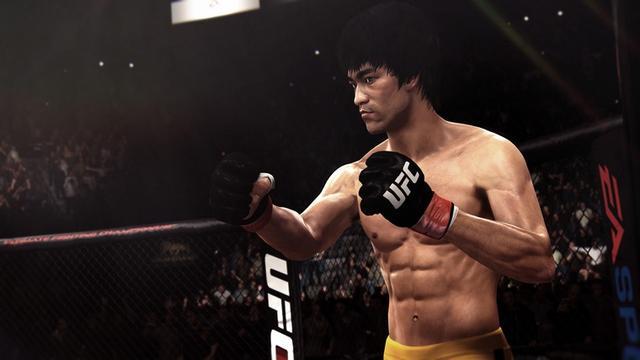 新版UFC游戏将问世 李小龙征战八角笼成现实