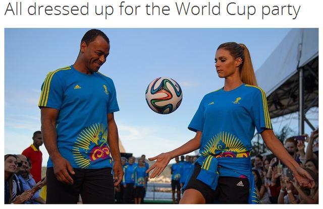 巴西世界杯志愿者服装发布 激情大气上档次
