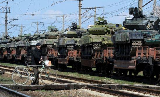 俄暂停向乌克兰转交克里米亚军事技术设备