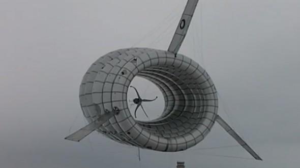 漂浮的高空发电厂 能效超过地面设备两倍
