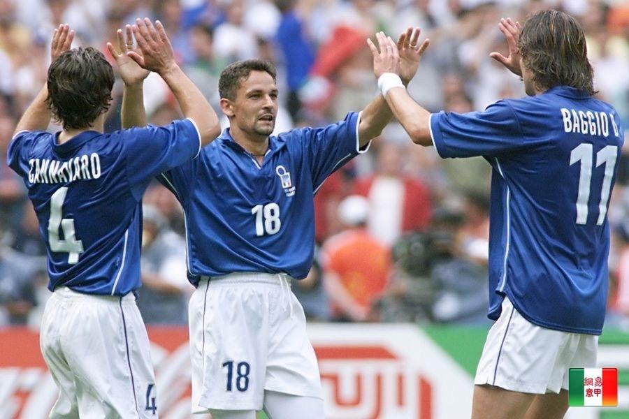 世界杯传奇榜第52名:意大利金球铁卫卡纳瓦罗