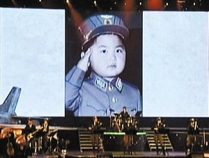 朝鲜首次公开 金正恩童年照