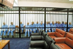 法庭再次开审卡扎菲政权高官
