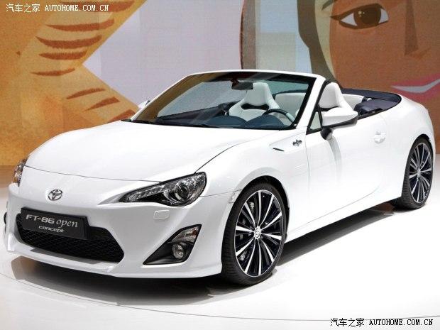 丰田丰田(进口)丰田FT-862013款 Open Concept