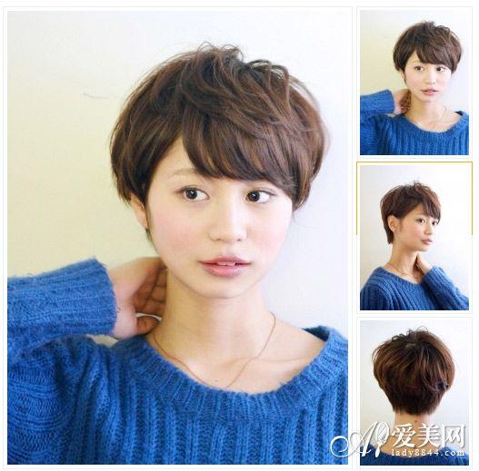 2014最新短发发型 初夏刮起甜美风图片