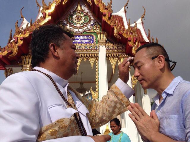 林保怡泰国拍《按摩师》遇地震 向友人报平安