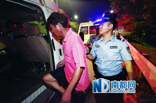渔政公安联合查处深圳湾非法捕捞